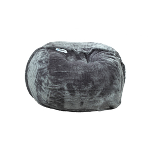 Ariika Standard Sac Grey Fur Bean Bag