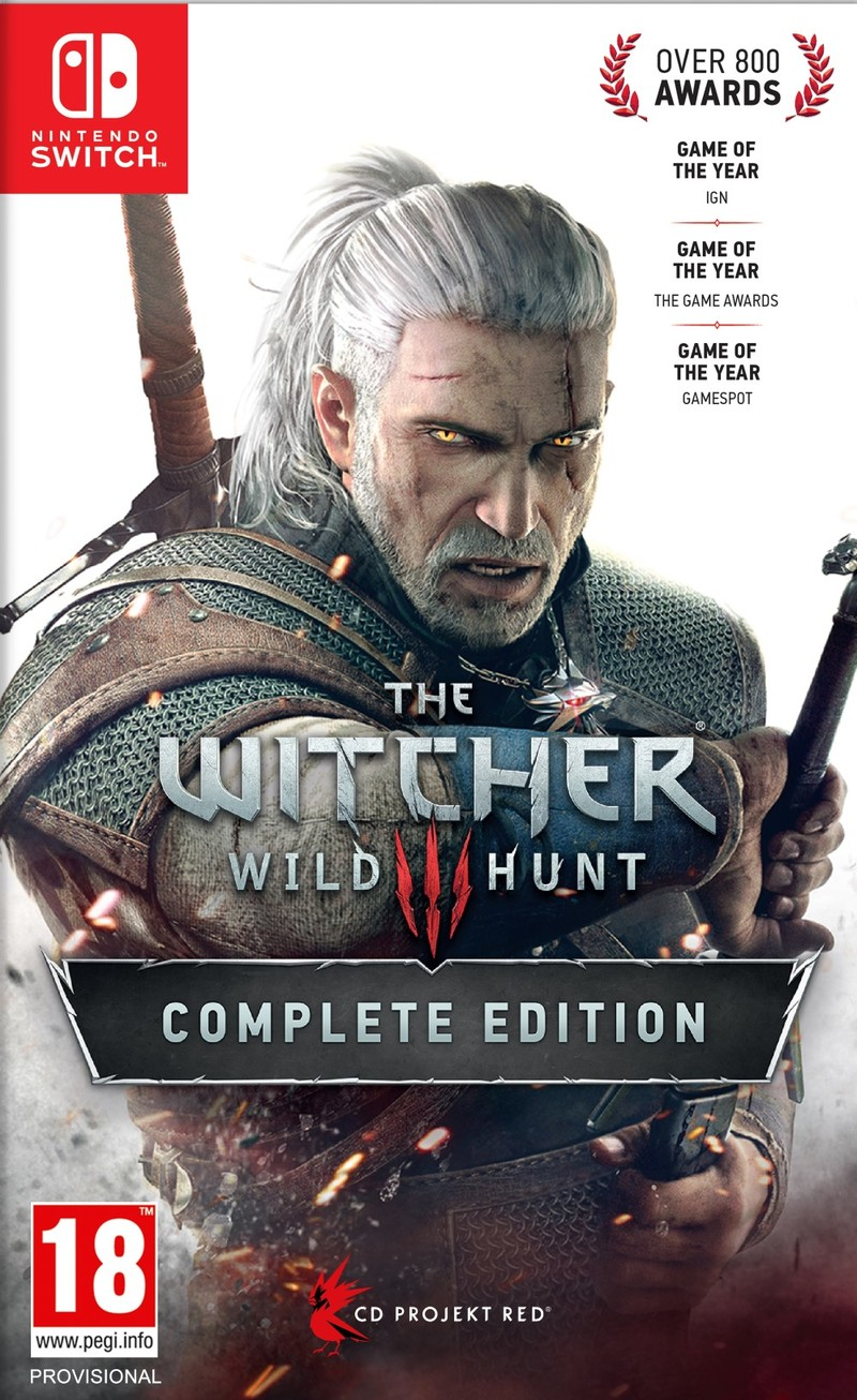 The Witcher III: Wild Hunt Complete Edition Switch [Pre-order]