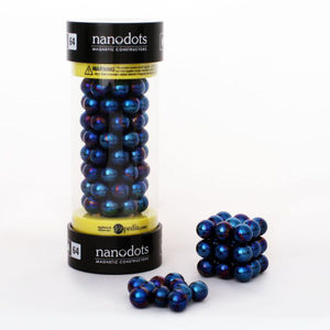 Mega Nanodots 64 Magnetic Dots Blue