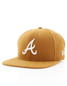 New Era Lightweight Ess Atlanta Braves Rust/Optic White Cap