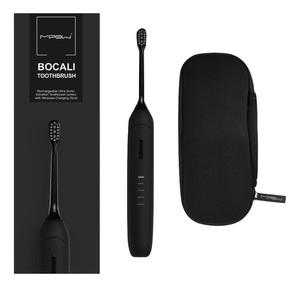 Bocali Sonic Rechargeable Electric Waterproof Toothbrush Black