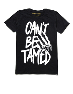 Can't Be Tamed Black Men's Tshirt