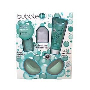 Bubble T Make Your Own Bath Bomb Moroccan Mint Tea