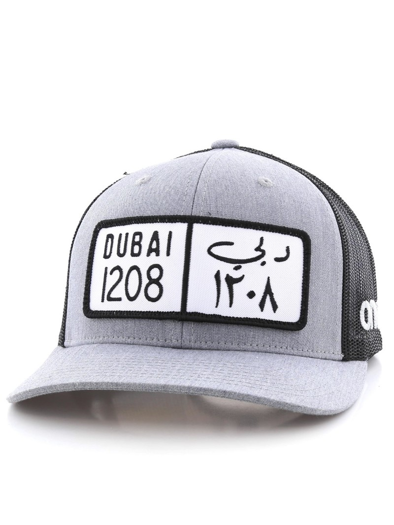 9067a34d372cc2 One8 Dubai Classic Plate Curved Brim Trucker Hat Unisexcap Osfa | Caps &  Headwear | Men | Fashion | Virgin Megastore