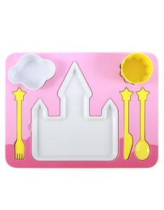 DOIY Design Princess Dinner Set