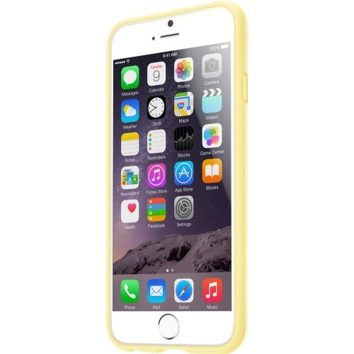 Laut Huex Case Yellow W/Sp & Cloth Iphone 6