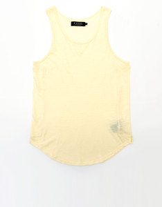 Civil Clothing Cooper Slub Drop Tank Butter Men L