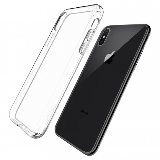 new products 80cde f751d Spigen Liquid Crystal Crystal Clear Case for iPhone XS