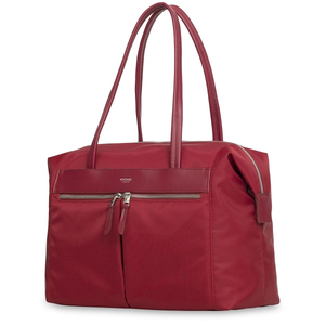KNOMO CURZON CHERRY SHOULDER BAG FOR LAPTOP UP TO 15-INCH