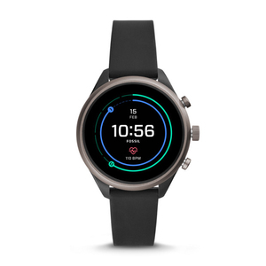 Fossil FTW6024 Sport Black Smart Watch 41mm [Gen 4]