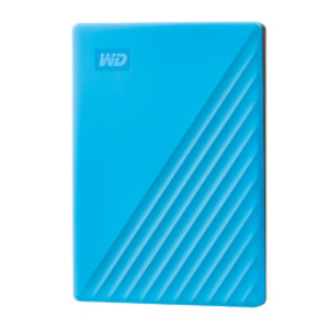 WD My Passport 4TB HDD Blue