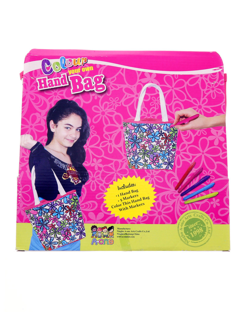 A-One Color Your Own Hand Bag