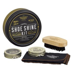 Gentlemen's Hardware Travel Shoe Shine Kit