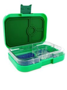 Yumbox Terra Green Stars Lunch Kit [4 Compartments]