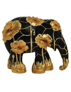 Elephant Parade Golden Poppies Figurine 10cm