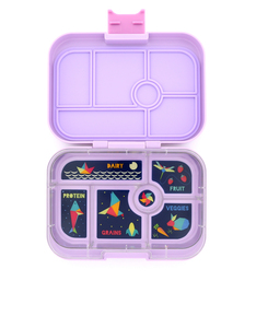 Yumbox Remy Purple Original Lunchbox [6 Compartments]