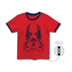 Fortnite Vertex Kids T-Shirt Red