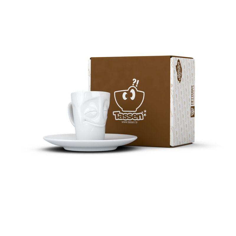 White With Products Handle Mug 58 Espresso Tassen Cheery 100ml hsdrCtQx
