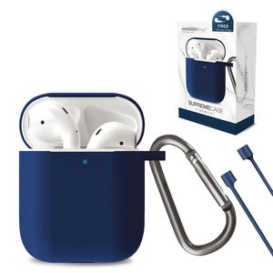 Amazing Thing SupremeCase Flow with Carabiner for AirPods Blue