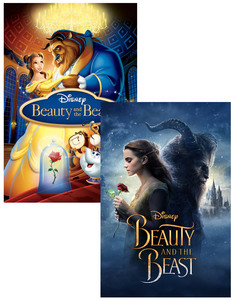 Beauty and the Beast [Movie] + Beauty and the Beast [Animation] [2 Disc Set]