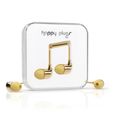 Happy Plugs Gold In-Earphones