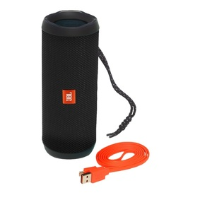 JBL Flip4 Black Waterproof Portable Bluetooth Speaker