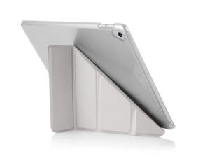 Pipetto Origami Case Silver & Clear for iPad 9.7 Inch