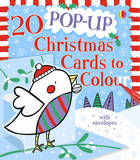 20 Pop-up Christmas Cards to Colour