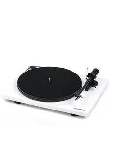 Pro-Ject Essential III White Turntable