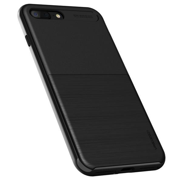 new concept 10d02 91f48 VRS Design High-Pro Shield Case Metal Black for iPhone 8 Plus/7 Plus
