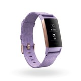 Fitbit Charge 3 Special Edition Lavender Woven Activity Tracker