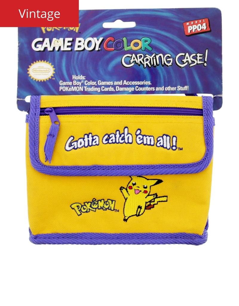 Gameboy color - Nintendo Gameboy Color Pokemon Carrying Case