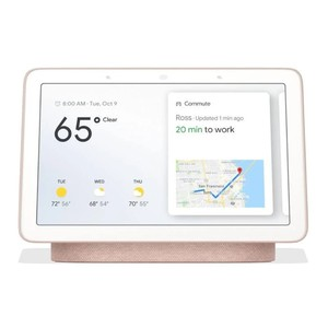 Google Home Hub Sand with Google Assistant