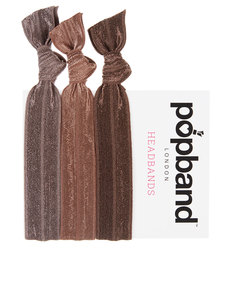 Popband London Brown Headbands Brown