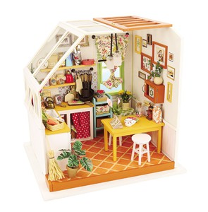 Robotime DIY Dollhouse Kit Jason's Kitchen