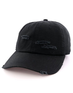 Cayler & Sons Bl Ripped Curved Black Cap