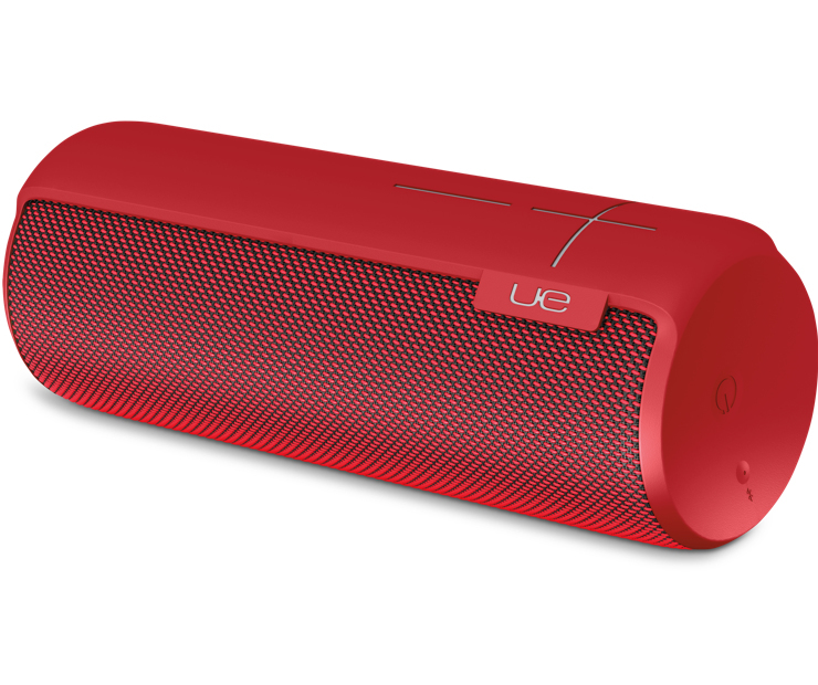 Portable Bluetooth Speaker Ultimate Ears Megaboom: Ultimate Ears Megaboom Lava Red Bluetooth Speaker