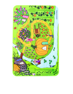 Constructive Eating Garden Fairy Placemat Multi-Colored