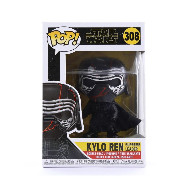 Funko Pop Star Wars Ep 9 Star Wars Kylo Ren Supreme Leader Vinyl Figure