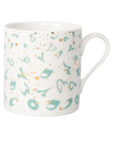 Silsal Design Accents Mug Turquoise & Gold