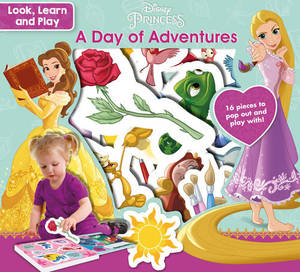Disney Princess Look, Learn And Play A Day Of Adventures