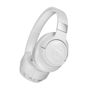 JBL 750BTNC White Wireless Over-Ear Headphones with Active Noise Cancellation