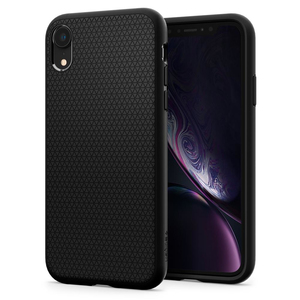 SPIGEN LIQUID AIR MATTE BLACK CASE FOR IPHONE XR