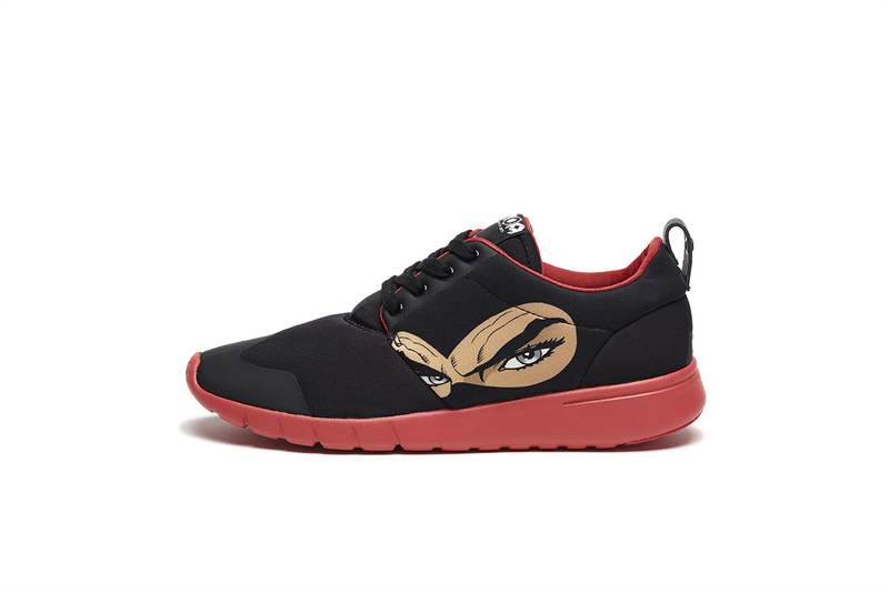 Running Derby Diabolik Black/Pink Men'S Sneakers Size 41