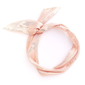 Ban.do Twist Scarf Rose Gold