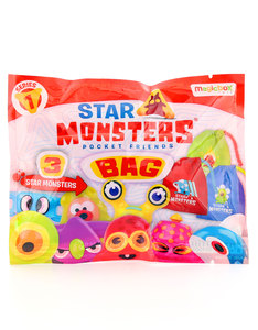 Star Monsters 3 Pack with Bag S1