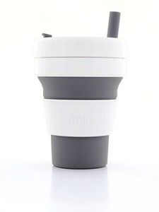 Stojo Biggie Cup Slate Grey 470 Ml
