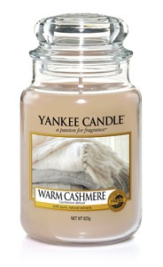 YANKEE CANDLE CLASSIC JAR WARM CASHMERE [LARGE]