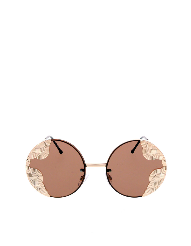Spitfire Uk British Riviera Gold/Brown Sunglasses