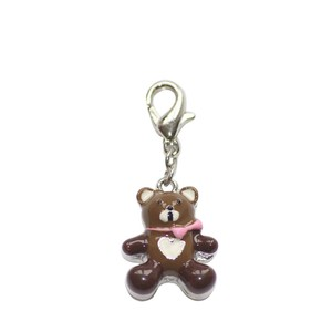 BOMBAY DUCK METAL TEDDY BEAR CHARM
